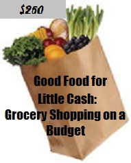 Grocery Shopping on a Budget of $250