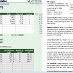 Debt Reduction Calculator for MS Excel