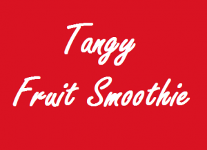 Tangy Fruit Smoothie