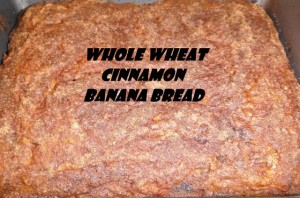 Whole Wheat Cinnamon Bread