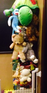 Storing stuffed animals
